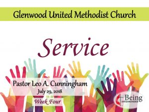 Being United Methodist: Service