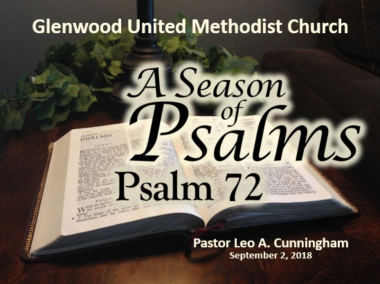A Season of Psalms: Psalm 72